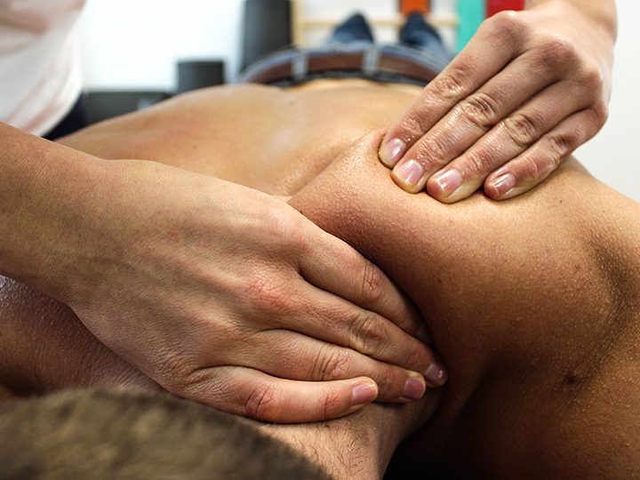Pain Relief with Traditional Massage